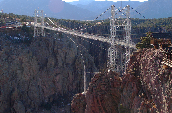 Royal Gorge Suspension Bridge - Best places to bungee jump - 2018 - TrendMut- USA
