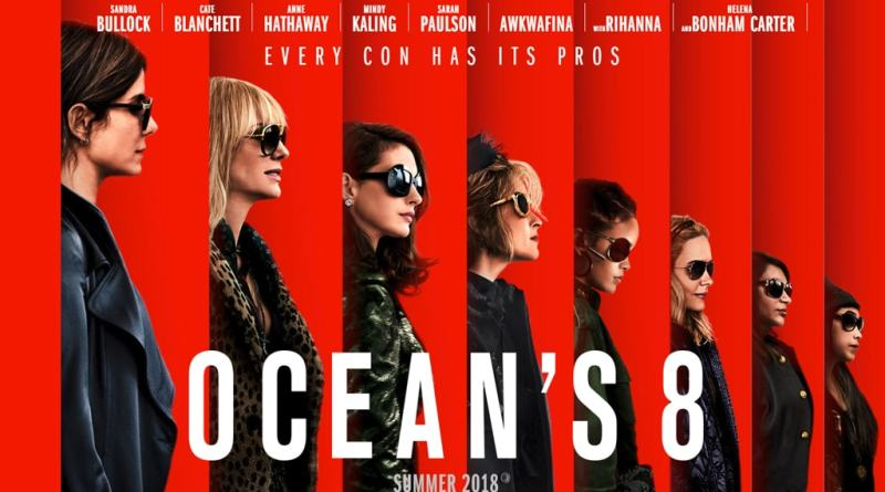 Oceans 8 poster - 2018 -Ocean's 8 release is upon us -But can it live up to expectations- trendMut-min