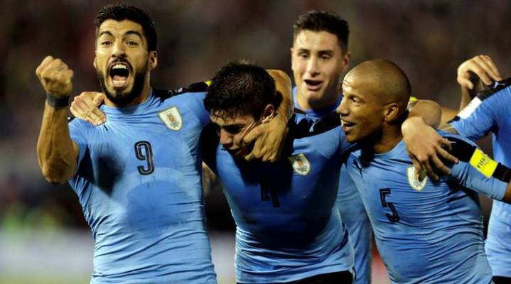 uruguay fifa 2018 - Second match of FIFA WorldCup, Egypt Vs. Uruguay (0 - 1)