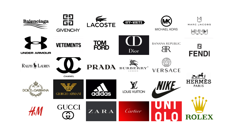 scala mobile pregiudizio Foglio  10 Most Expensive Fashion Brands in the World. — Edgyprop.com