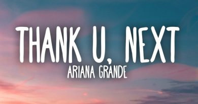 thank u next lyrics ariana grande