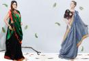 look slim in a saree