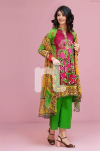 Indian Chiffon Nishan Linen Spring Summer Collection 01