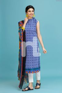 Indian Chiffon Nishan Linen Spring Summer Collection 03