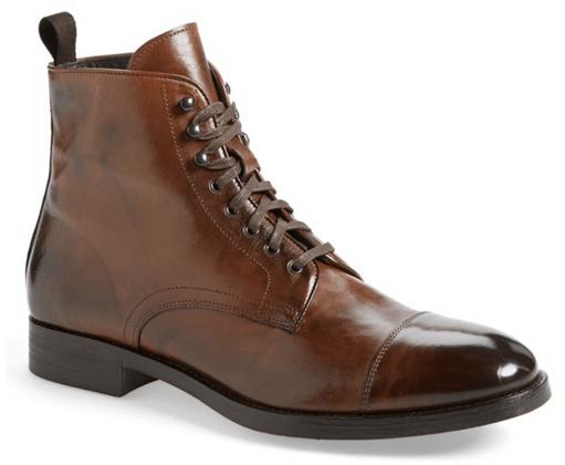 Stallworth' Cap Toe Boot