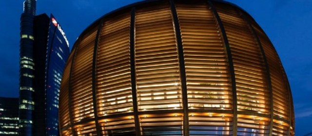 UniCredit Pavilion Milan – Organic Design Made of Wood and Glass