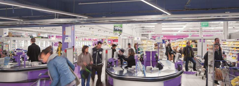 E.Leclerc Langon Boosts Sales with Connected Lighting from ZGS