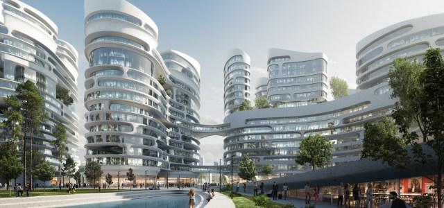 Zaha Hadid Set To Build A Smart City