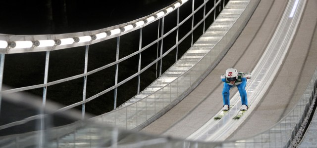 New Lighting Brings Both Functionality and Drama to World Renowned Ski Jumps