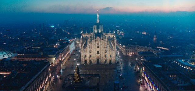 Milan Cathedral's Epic Outdoor Lighting