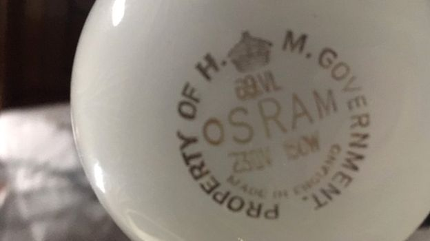 Vintage Osram Bulb Still Works After 70 Years