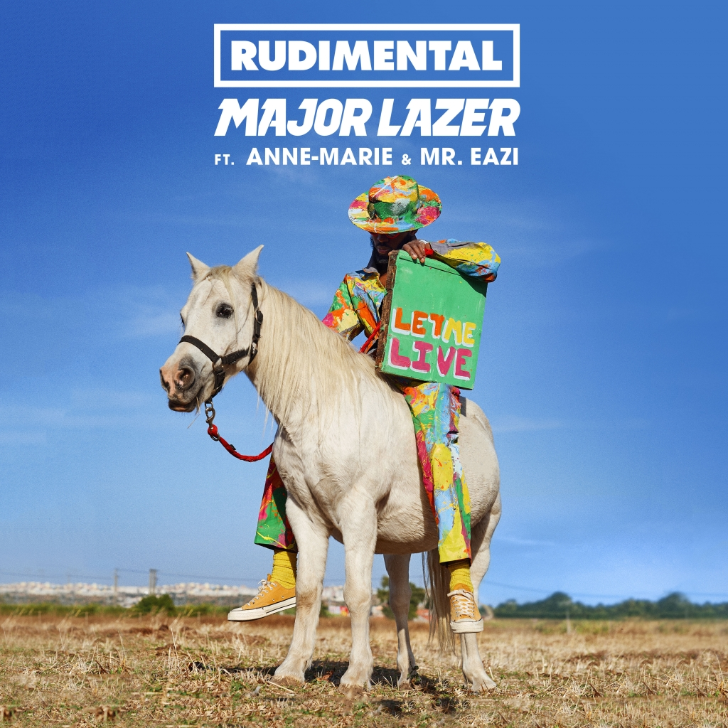 "RUDIMENTAL x MAJOR LAZER UNVEIL THE OFFICIAL VIDEO TO ""LET ME LIVE"" FT. ANNE-MARIE & MR EAZI ile ilgili görsel sonucu"