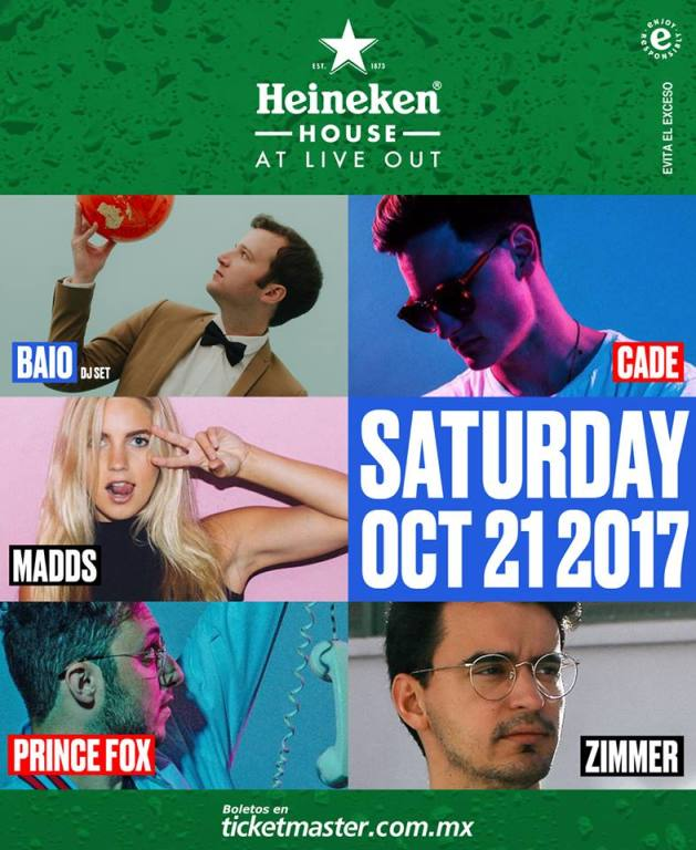 Heineken House Live Out 17