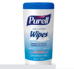 Purell Hand sanitizer wipes