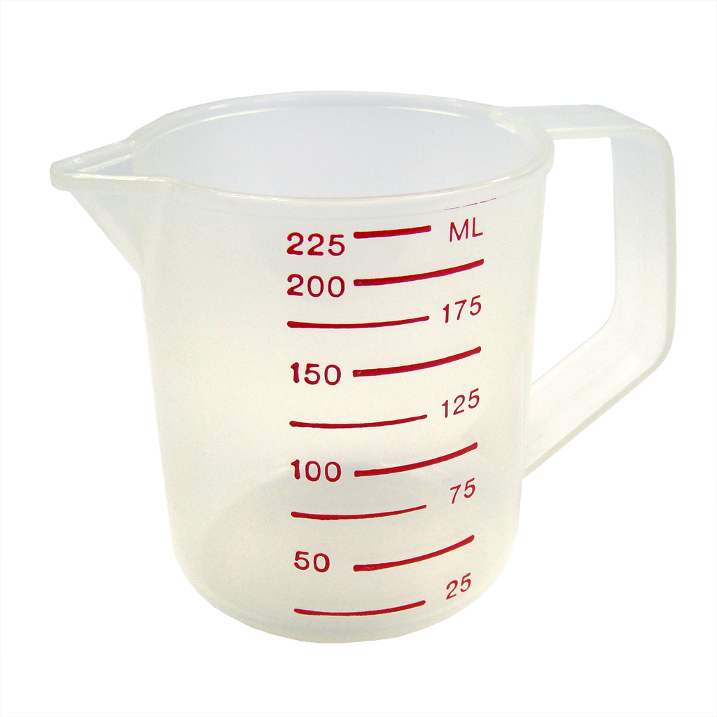 Pp Plastic Small Measuring Cups