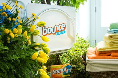 Bounce is ready to burst with outdoor freshness