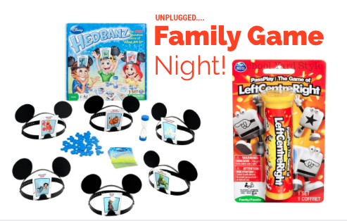 Disney Headbandz Family Game night