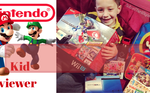 Nintendo Kid Reviewer Wii U review #PlayNintendo