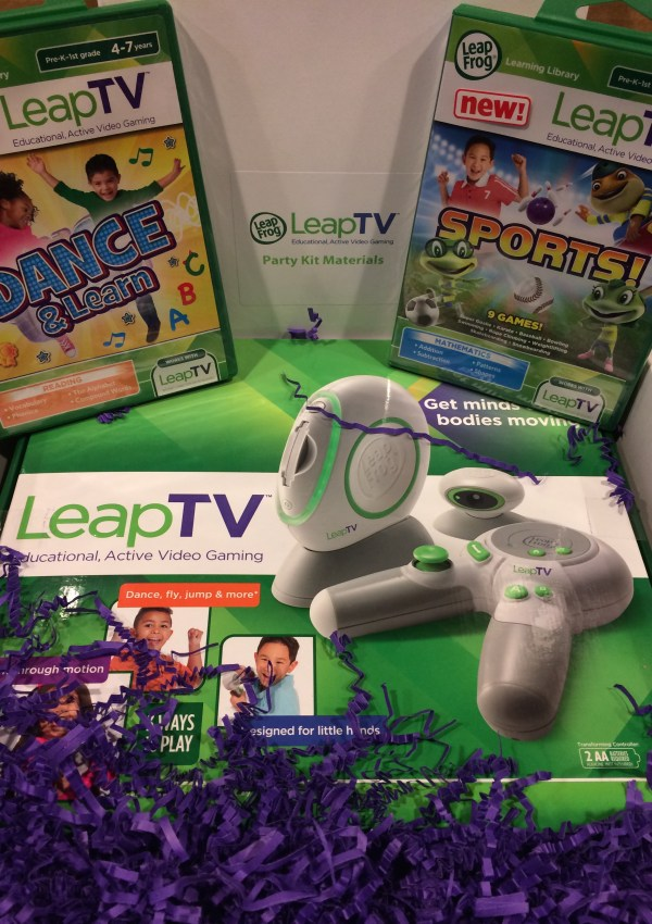 We are taking a Leap into Gaming #LeapTV