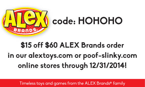 Happy Holidays from @ALEXToys, and School Yard Style #Printables