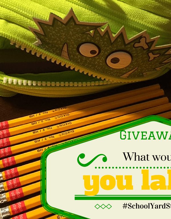 Heading back to school with a giveaway