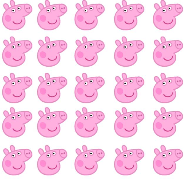 Free Peppa Pig Printables Trendy Chaos