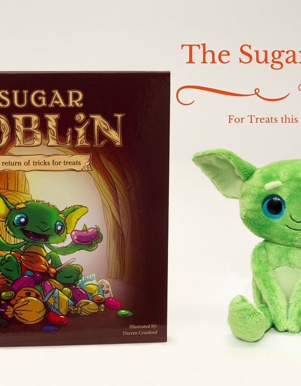 The Sugar Goblin is trading tricks for treats!
