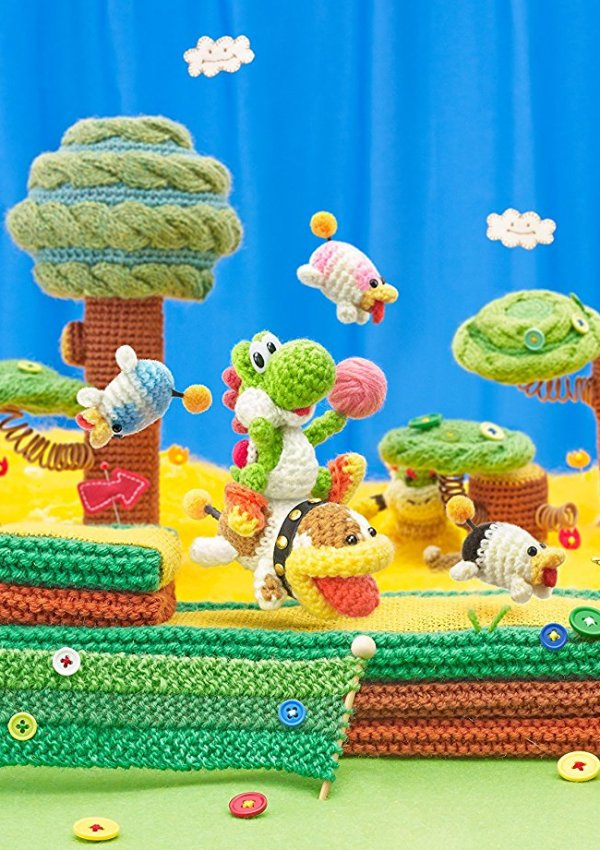 Get Crafty with Yoshi And Poochy #PlayNintendo