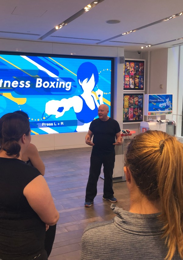 Thinking Inside the Box with Nintendo Switch's Fitness Boxing