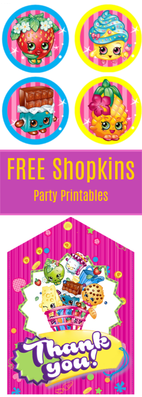 photo regarding Printable Shopkins Pictures named Shopkins Social gathering Printables - Attractive Chaos