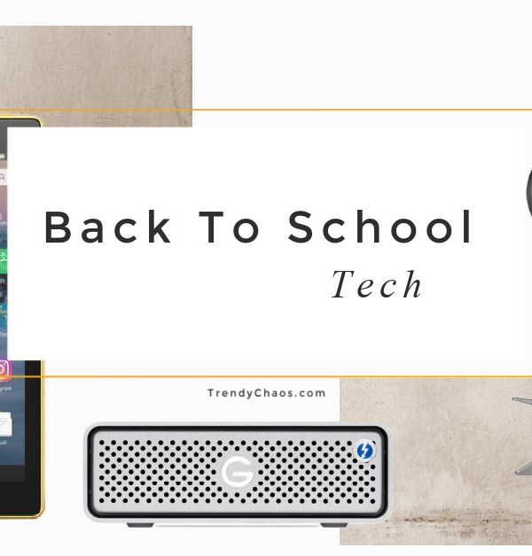 Back to School Tech for Remote Learning
