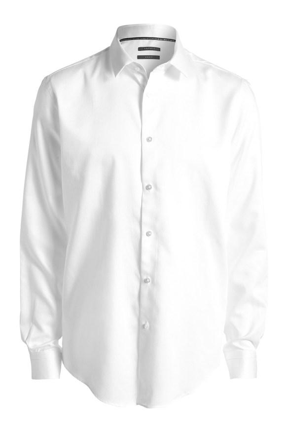 esprit shop on line idea regalo uomo camicia bianca