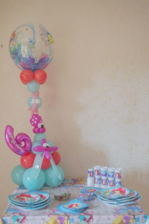 Come organizzare una festa a tema Ariel La Sirenetta