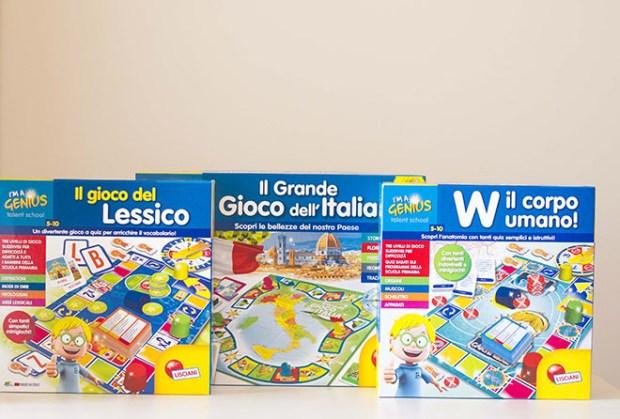 I giochi Lisciani per la scuola: