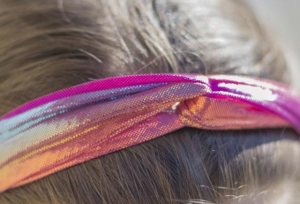 fascia per capelli per bambina