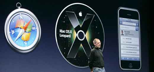 Steve Jobs Announced Safari For Windows; Credit: Paul Sakuma/AP www.nytimes.com