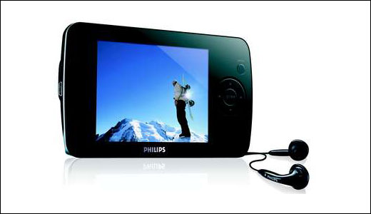 Philips  Flash audio video player 8GB