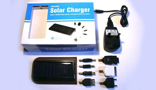 Devotec Solar Charger