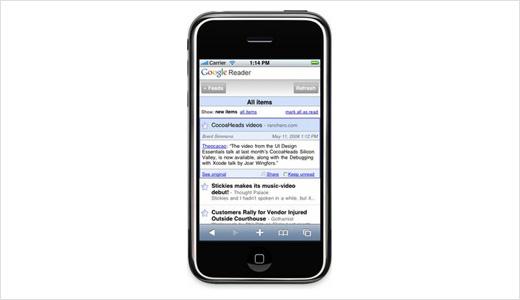 Google Reader iPhone Edition