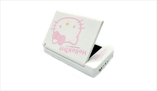 Hello Kitty Solar Power Charger