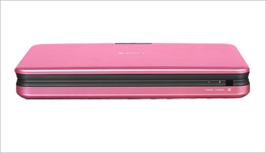 Portable DVD Player - Pink