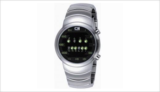 Binary Sumui Moon Bracelet Watch