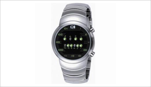 Binary Sumui Moon Bracelet Watch