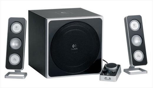 Logitech Z-5 Omnidirectional stereo speakers
