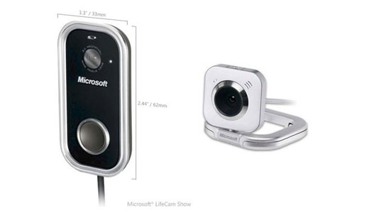 Microsoft LifeCam Show and LifeCam VX5500 webcams