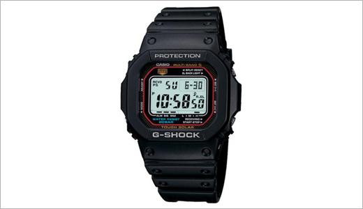 Casio's solar-powered GWM5600 G-Shock watch