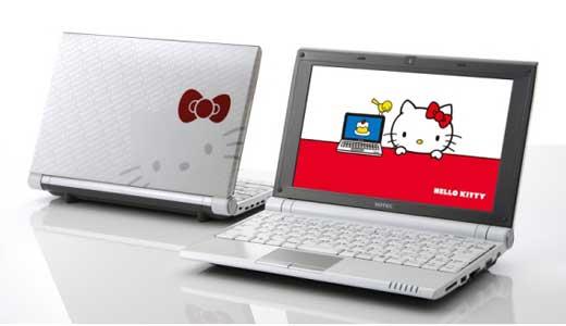 ONKYO HELLO KITTY netbook
