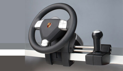 Limited Edition Porsche Xbox 360 Steering Wheel