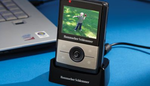 HD Camcorder with Auto Transferring Dock