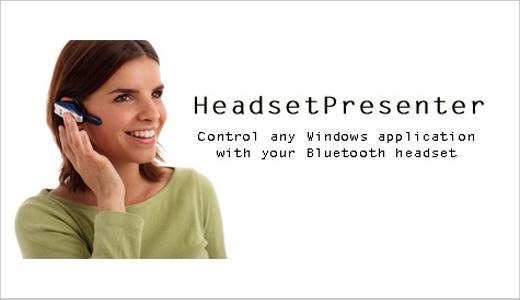 headset presenter